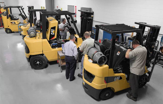 Cat Forklifts & Forklift Repair
