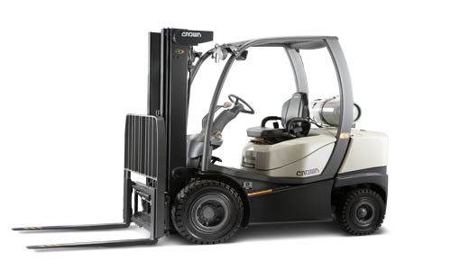 Crown Pneumatic forklifts