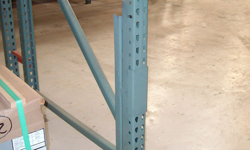 Warehouse Storage Rack Repair