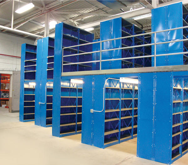 Industrial Warehouse Shelving Performance People